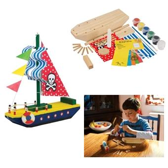 Pics Photos - Your Own Pirate Chest Wooden Craft Kit For Kids By ...